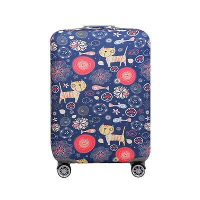 "18-32"" Cat Fish Elastic Home Luggage Suitcase Bag Cover Protector Anti Scratch"