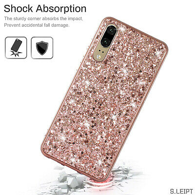 Bling Glitter Case For Samsung Galaxy A50 A70 A40 TPU Shockproof Bumper Cover