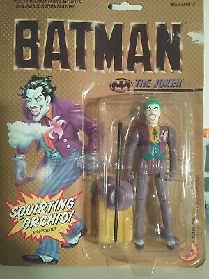 Batman Movie 1989 Joker Action Figure With Squirting Orchid Toybiz