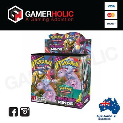 Pokemon TCG Unified Minds Booster Box Brand New PREORDER