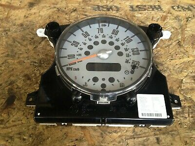 Mini One R50 R52 R53 Instrument Cluster Speedometer Speedo 6211-6978318 T15#2952