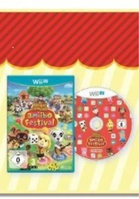 Wii-U-Animal Crossing: Amiibo Festival /Wii-U GAME NEW