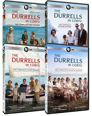 The Durrells in Corfu: Seasons 1-3 (DVD, 6-Discs)1, 2, 3 Region 1 for US Players
