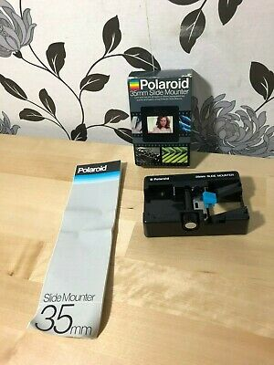 Polaroid 35mm Slide Mounter, Boxed, Good Condition, Film Photography Vintage