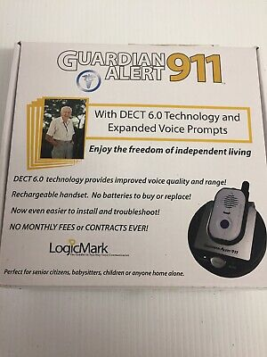 Guardian Alert 911 System Newest model 30911 VoIP Compatible medical help