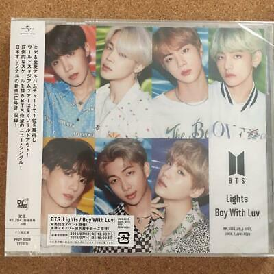 BTS Bangtan Boys Lights Boy with Luv FC Limited Japanese ver CD only unused