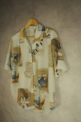 Christian Marcus Oversized Vintage Blouse Top Size 14
