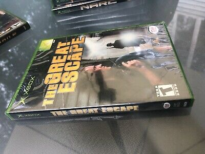 Great Escape (Microsoft Xbox, 2003) Factory Sealed New