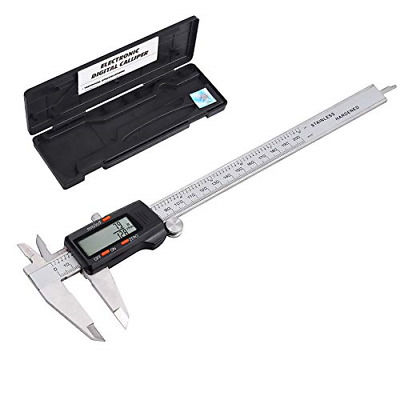 eSynic Digital Vernier Caliper 200 mm/ 8 Inch Stainless Steel Electronic Caliper