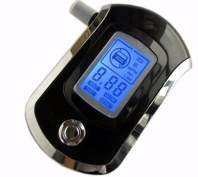 2017 Hot selling Professional Police Digital LCD Breath Alcohol Tester AT6000