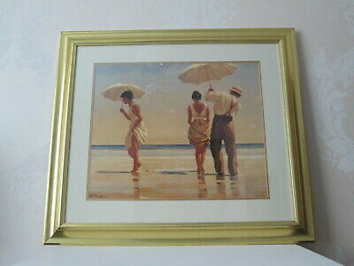 Jack Vettriano - Mad Dogs - Large Framed and Glazed Print.