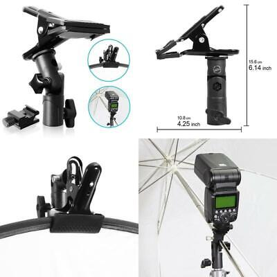 Selens Clip Clamp Holder Bracket For Reflector Umbrella Flash Background With 1/