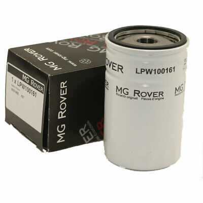 Genuine MG Rover Oil Filter. MG ZT, Rover 75 Oil Filter + Sump Washer LPW100161