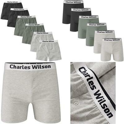 Charles Wilson Men'S 6 Pack Loose Fit Boxer Shorts