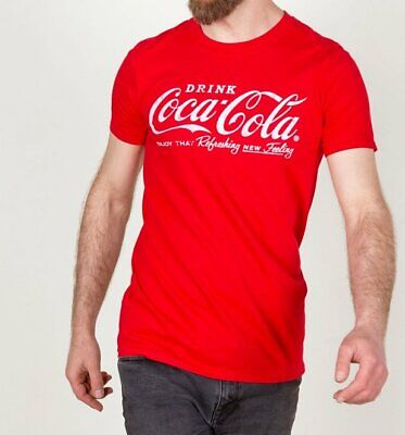 Official Men's Drink Coca-Cola Logo T-Shirt