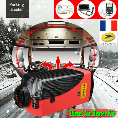 12V 5KW 5000W Air Diesel Fuel Heater LCD Monitor Voiture Chauffage 5KW Car BUS