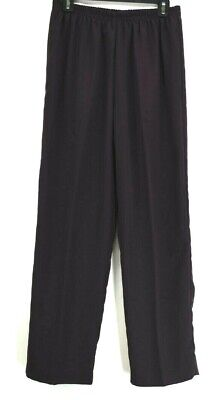 R & M Richards Women's Size 14 Elastic Waistband Hemmed Pull On Dress Pants