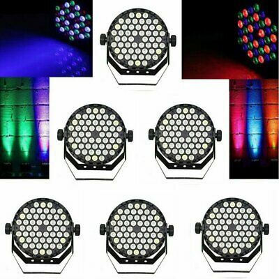 36LED RGB Stage Light DJ Disco Party Club Bar Lighting DMX512 Control 6 Channel