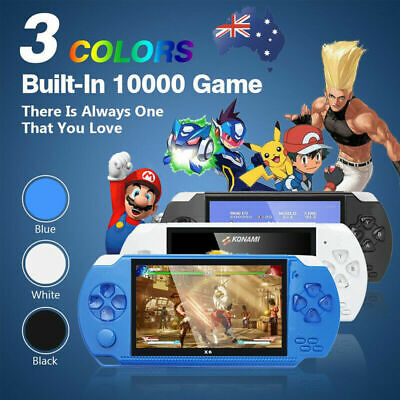 "AU 4.3"" 8GB Portable Video PSP Handheld Game Console Player Built-In 10000 Games"