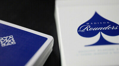 Daniel Madison BLUE Rounders ONLY 2500 Limited Edition Ellusionist Playing Cards