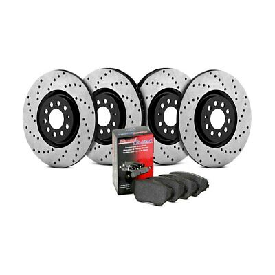 Rear Right StopTech 127.46047R Sport Drilled//Slotted Brake Rotor 1 Pack