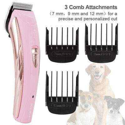Pet Dog Cat Electric Shaver  Animal Hair Remover Clipper Grooming Trimmer Kit