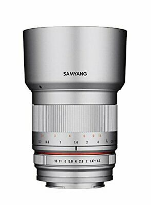 SAMYANG 50mm F1.2 AS UMC CS Lens for Sony Silver Japan Ver. New / FREE-SHIPPING