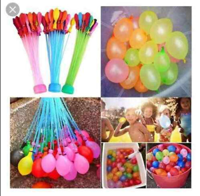 111pcs Fast Fill Water Balloons Self Tying Bunch Summer Toys water fight summer