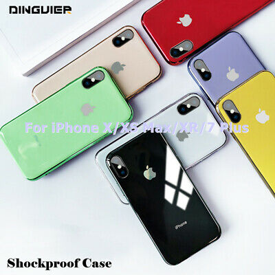 Shockproof Ultra Slim Soft TPU Phone Case Cover For i Phone XS Max XR X 7 8 Plus