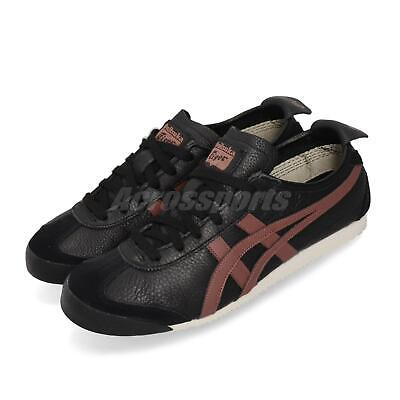 Asics Onitsuka Tiger Mexico 66 Black Burnt Red Men Women Unisex 1183A201-002