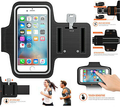 For iPhone Gym Running Jogging Sports Armband Exercise Pouch Arm Band Holder