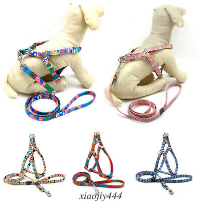 Pet dog harness no-pull pet harness adjustable Reflective cat safety leash