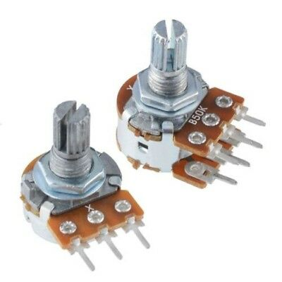 16mm Variable Resistor Potentiometer Pot Lin Linear Log Logarithmic