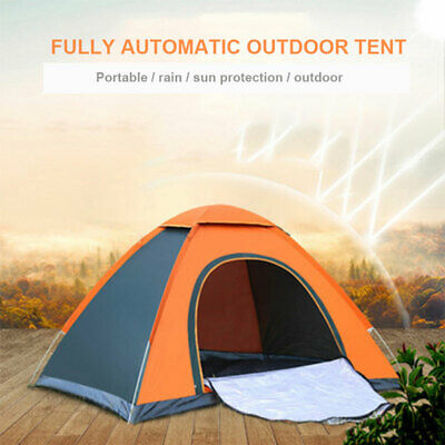 Automatic 3-4 Man Person Family Tent Camping Festival Waterproof Shelter Hiking