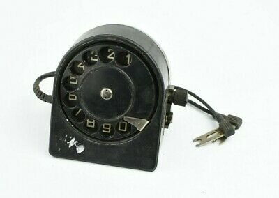 Telephone Bakelite Dial for Army Field Phone vintage military