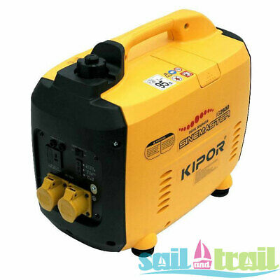Kipor IG 2600 Suitcase Inverter Generator - 110v Site Version