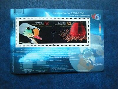 Canada#2205b MNH SS 'International Polar Year' Lot#N5