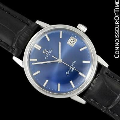 1967 OMEGA SEAMASTER 600 Vintage Mens Stainless Steel Watch - Mint with Warranty