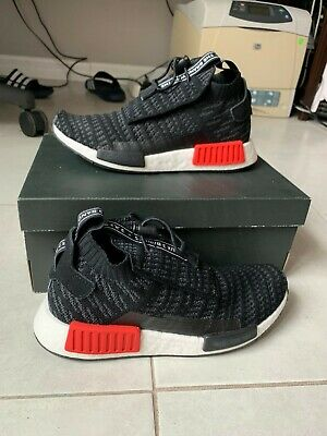 ADIDAS NMD TS1 Primeknit Bred Men Shoes Size US 6