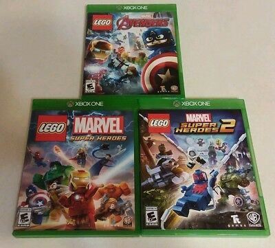 LEGO: The Avengers, Marvel Superheroes & Marvel Superheroes 2 (Xbox One)
