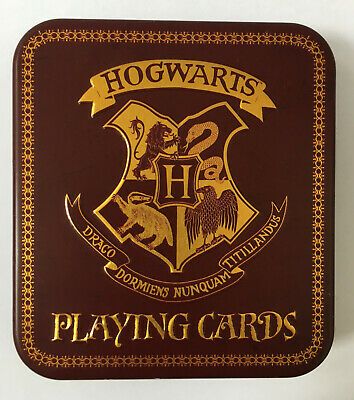 Harry Potter Hogwarts Houses Playing Cards With Tin