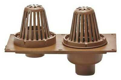 """SMITH LIGHT COMMERCIAL 148-Y03 3"""" Pipe Dia. Cast Iron Roof Drain"""