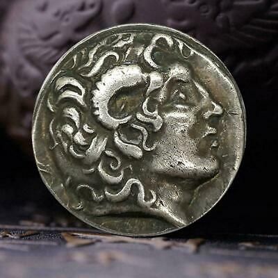 Ancient Greek Alexander the Great Commemorative Coin V9T8