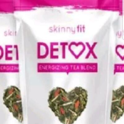 Skinny Fit Detox Tea: Energizing Tea Blend - 28 Servings NEW