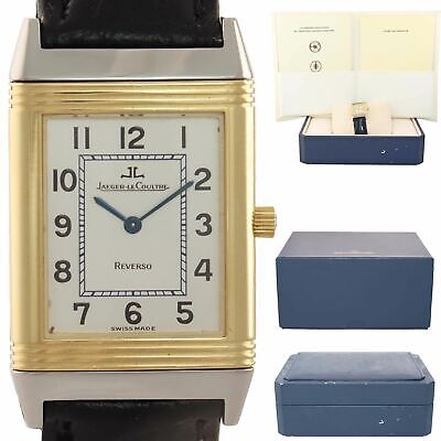 Jaeger LeCoultre JLC Reverso Classique Two Tone 18k Gold 250.5.08 23mm Watch