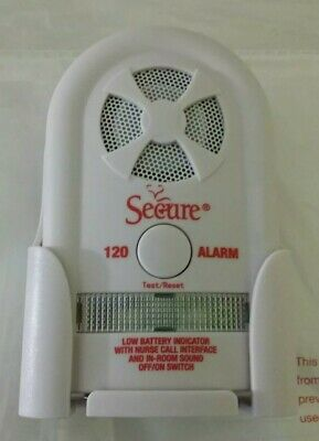 Secure Bed Exit Alarm SUA-120 Fall Prevention Alert Adjustable Volume