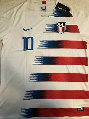 82352c7a0 Christian Pulisic Jersey: 2019 United States National : USA White MENS  S-M-L-XL