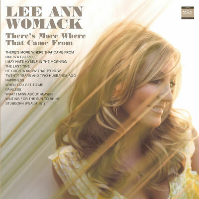 WOMACK LEE ANN - There's More Where That Came From