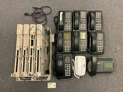 AVAYA Partner ACS Phone System 9 PHONES + Voice Messaging Card 108524141