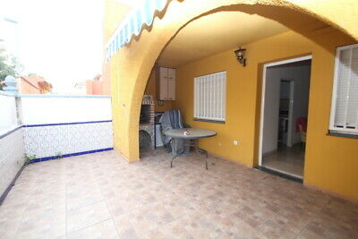 2bed furnished house/private solarium 40m2 in New Torrevieja, Alicante, Spain.